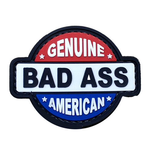 Shellback Tactical Genuine Bad Ass American PVC Patch
