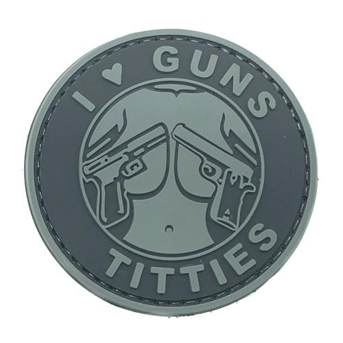 Shellback Tactical I love Guns and Titties PVC Patch