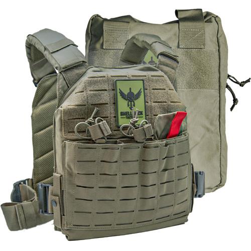 Shellback Tactical Defender 2.0 Active Shooter Kit Ranger Green