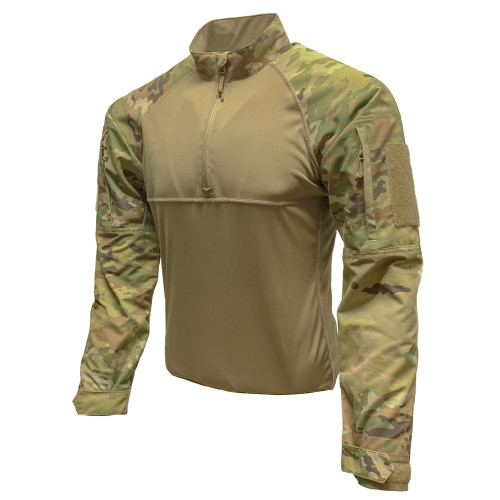 Shellback Tactical 1/4 Zip OCP Combat Shirt