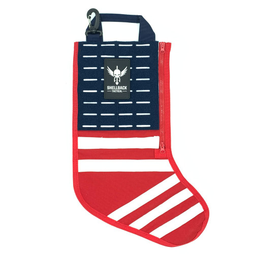 Shellback Tactical Stars and Stripes Christmas Stocking Front