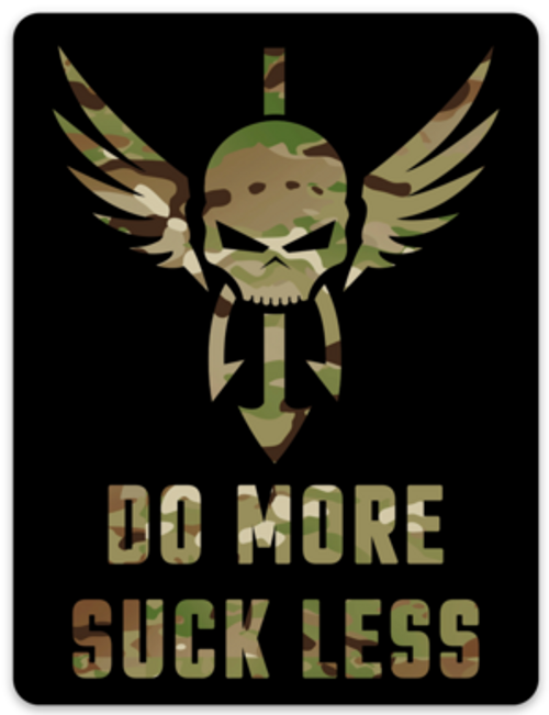 Shellback Tactical Do More Suck Less Magnet