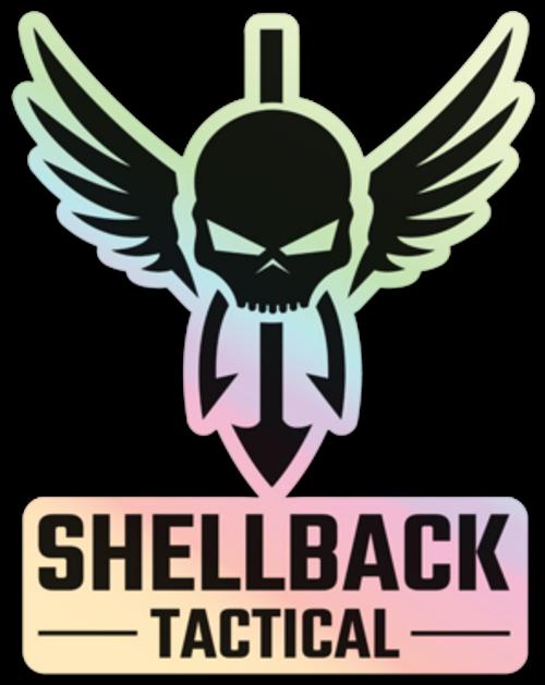 Shellback Tactical Holographic Logo Sticker