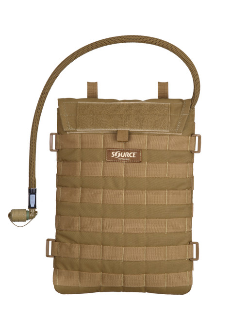 Source Tactical Razor Low Profile Hydration Pouch with 3L Bladder Coyote
