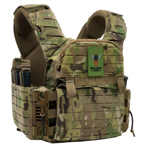 Shellback Tactical Banshee Elite 3.0 Plate Carrier with Old Buckle - Closeout Multicam