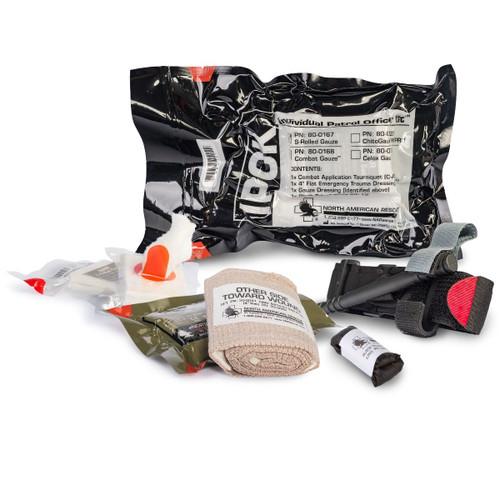 North American Rescue Individual Patrol Officer Kit (IPOK) Breakdown