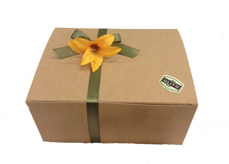 Appearance of Gift Box wrapped, ready to give.