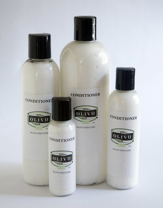 Conditioner available in 2, 4, 8 and 16 oz sizes.