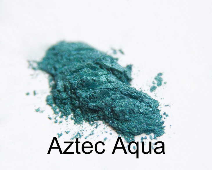 Aztec Aqua. All we can say is WOW! Think, sophisticated mermaid. But really this color delivers a punch of color that is flirty.