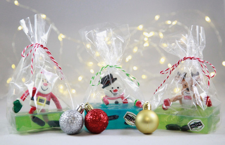 Holiday Bendable Soaps