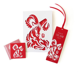 "SALE ""Year of the Ram 2015"" Specialty Gift Set"