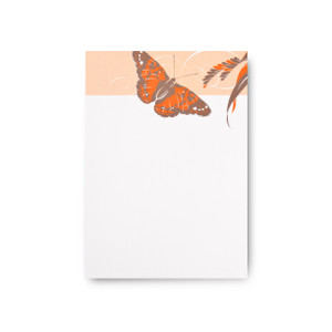 """Tropical Wings"" Notepad – Kamehameha Butterfly"