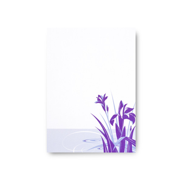 """Asian Blossoms"" Notepad – Ayame"