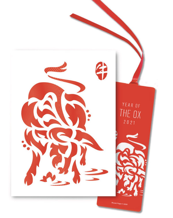 """""""Year of the Metal Ox 2021"""" Gift Set"""