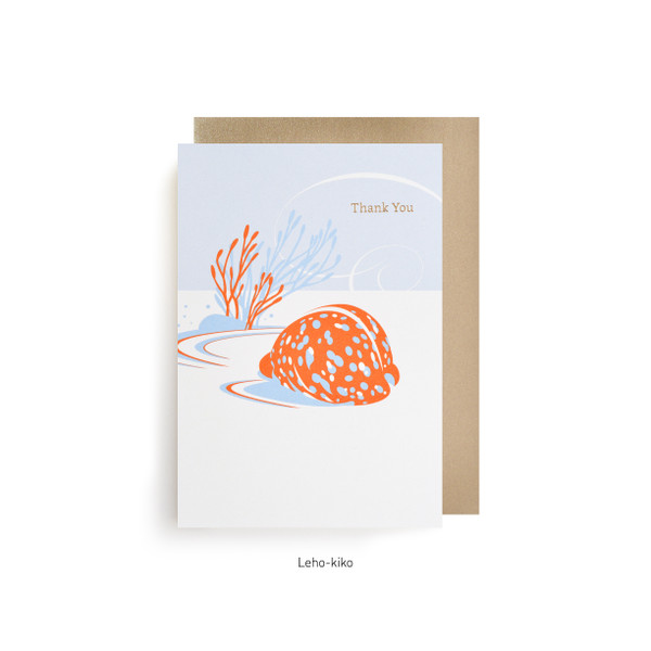 Thank You - Leho-Kiko (Spotted Cowry)