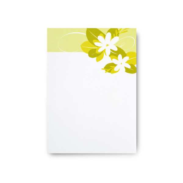 """Tropical Blossoms"" Notepad – Tiare"