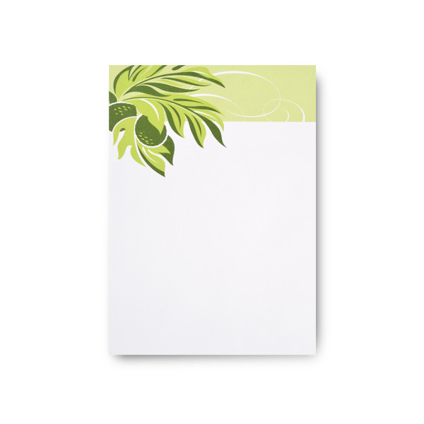 """Tropical Leaves"" Notepad – 'Ulu"
