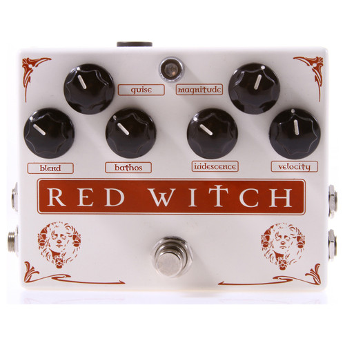 Red Witch Medusa Chorus Tremelo Guitar Effects Pedal (MEDUSA)