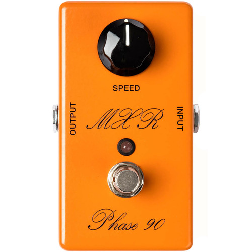MXR CSP101SL Custom Shop Script Phase 90 Guitar Effects Pedal with LED