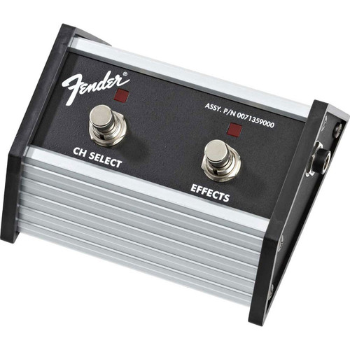 Fender 2-Button Footswitch Pedal: Channel Select/Effects On/Off, 007-1359-000