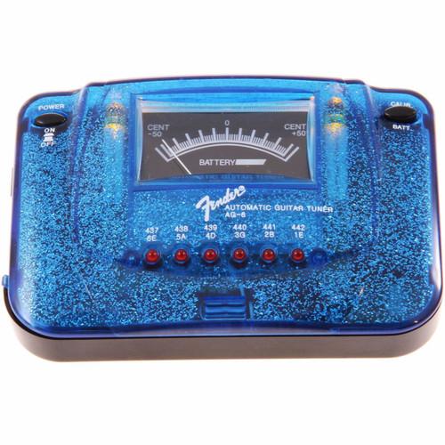 Fender AG-6 Sparkle-Tone Guitar Tuner, Blue Sparkle (023-9988-302)
