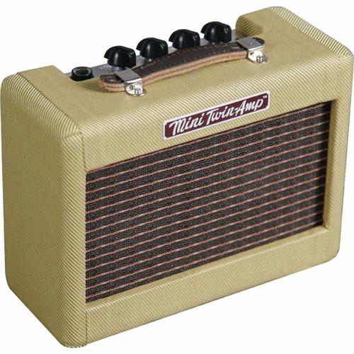 Fender Mini '57 Twin-Amp Guitar Amplifier, Tweed 023-4811-000 (023-4811-000)