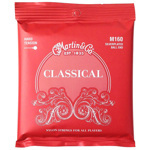 Martin M160 Silver-Plated Ball-End Classical Guitar Strings