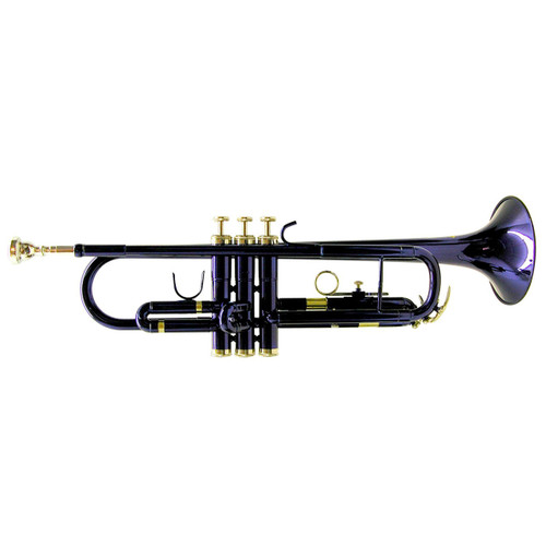 Mirage M40151BL Student Bb Trumpet With Case, Blue