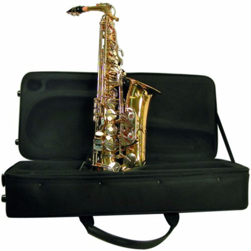 Mirage SX60A Student Alto Saxophone with Case, Brass (SX60A)