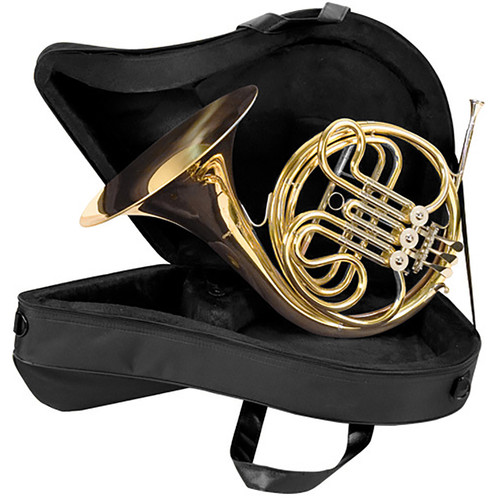 Palatino WI-823-FH Single French Horn with Hard Case, 3 Rotary Valves