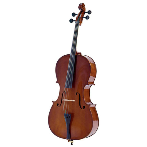 Palatino Allegro VC-455 Cello with Case, 4/4 Size (VC-455)