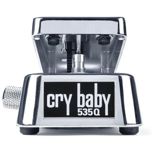 Dunlop 535Q-C Cry Baby Multi-Wah Guitar Effects Pedal, Chrome (535Q-C)