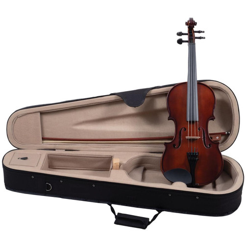Palatino VN-350 Campus Hand-Carved Violin Outfit with Case, 1/2 Size (VN-350-1/2)