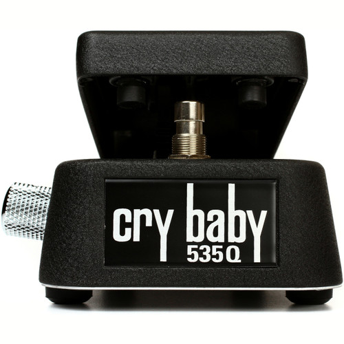 Dunlop 535Q Cry Baby Multi-Wah Guitar Effects Pedal, Black (535Q-B)