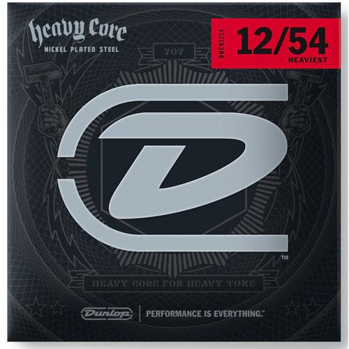 Dunlop DHCN1254 Heavy Core Electric Strings, Heaviest (DHCN1254)
