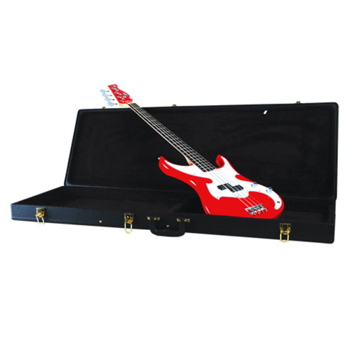 Guardian CG-020-B Hardshell Case for Electric Bass Guitar, Black