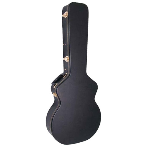 Guardian CG-020-HS Hardshell Case for 335 Style Shallow Hollowbody Electric Guitar, Black