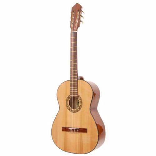 Paracho Elite SAN MARCOS Classical Acoustic Guitar w/ Solid Cedar Top, Natural (SANMARCOS)