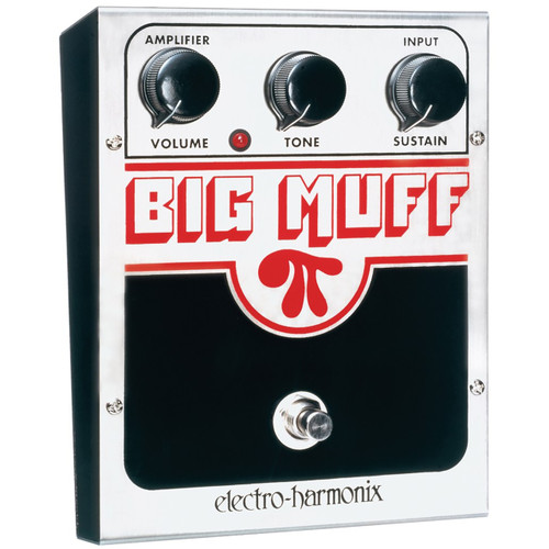 Electro-Harmonix Big Muff Pi Distortion and Sustainer Effects Pedal (USBM)