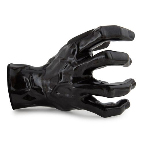 Guitar Grip Right Hand Facing Guitar Hanger, Black Pearl