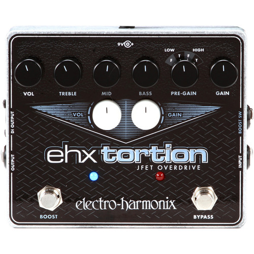 Electro-Harmonix EHX Tortion JFET Overdrive/Distortion Effects Pedal (EHXTORTION)