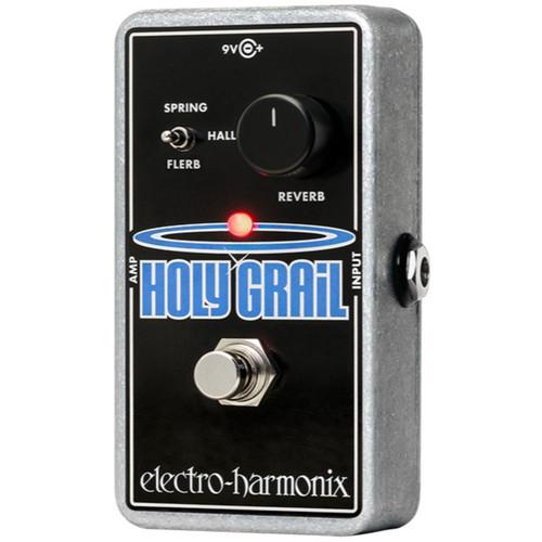 Electro-Harmonix Holy Grail Nano Reverb Guitar Effects Pedal (HOLYGRAILNANO)
