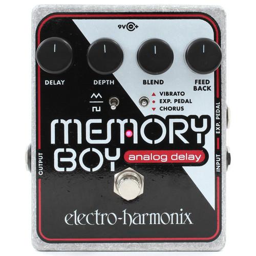 Electro-Harmonix Memory Boy Analog Delay with Chorus/Vibrato Effects Pedal