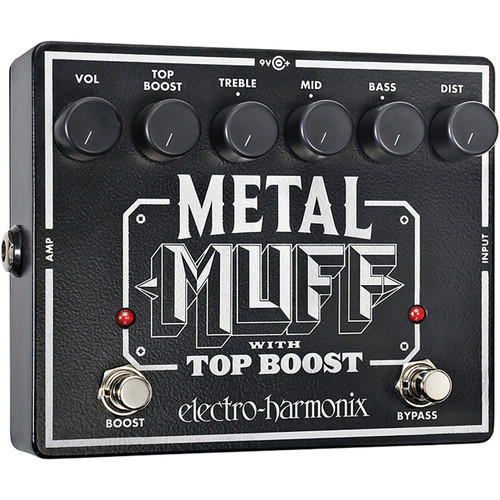 Electro-Harmonix METAL MUFF Distortion with Top Boost Effects Pedal