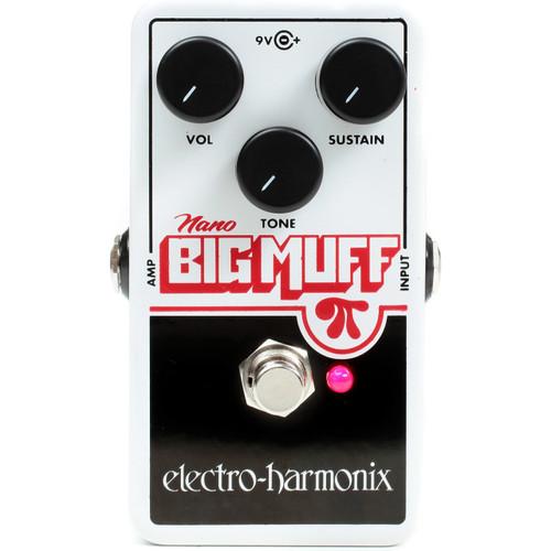 Electro-Harmonix NANO BIG MUFF PI Distortion/Fuzz/Overdrive Effects Pedal