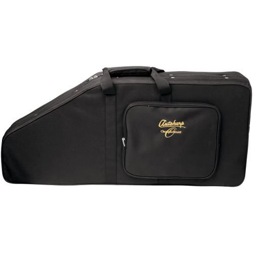 Oscar Schmidt AC448 Semi-Hardshell Backpack Style Case for Autoharp