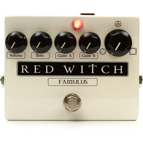 Red Witch Famulus Distortion Overdrive Guitar Effects Pedal