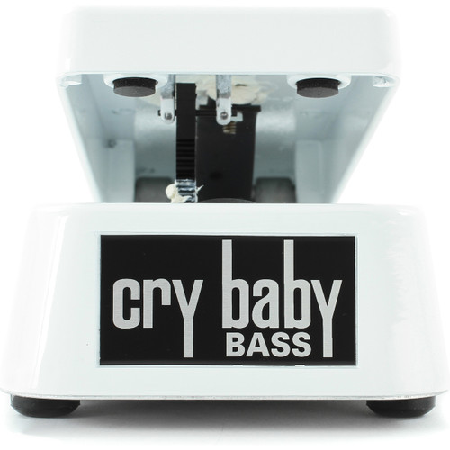 Dunlop Cry Baby 105Q Bass Wah Wah Guitar Effects Pedal, White