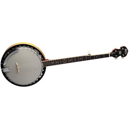 Washburn B9 Americana 5-String Resonator Banjo, Gloss Sunburst