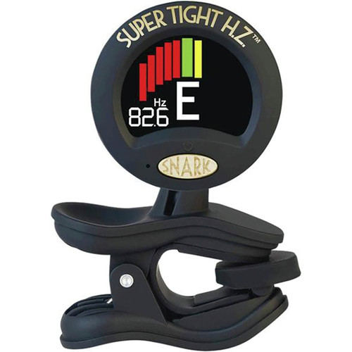 Snark ST-8HZ Super Tight Clip-On Chromatic Tuner with Hertz Tuning for All Instruments (ST8HZ)